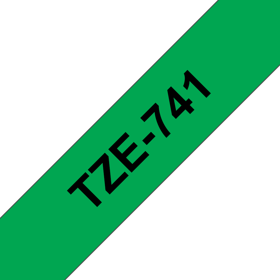 Brother TZe-741 18mm labeltape