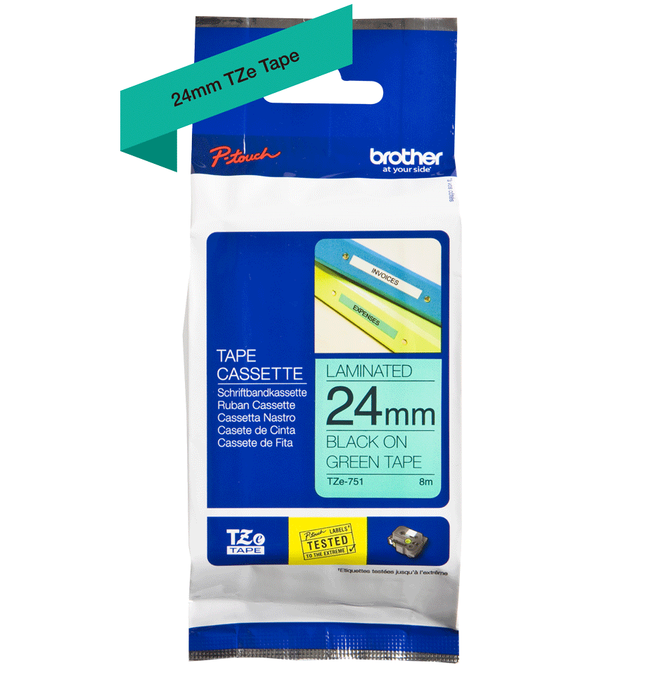 Brother TZe-751 24mm labeltape 3