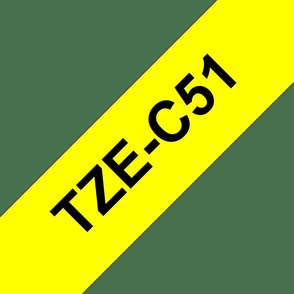 Brother TZe-C51 24mm labeltape