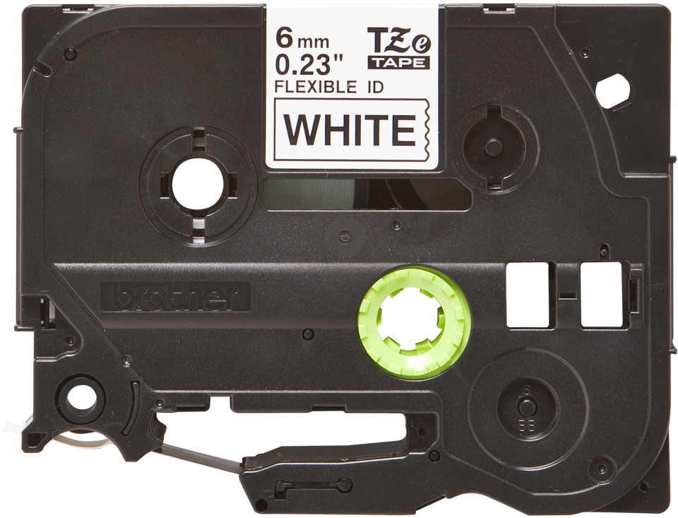 Brother TZe-FX211 6mm labeltape 2