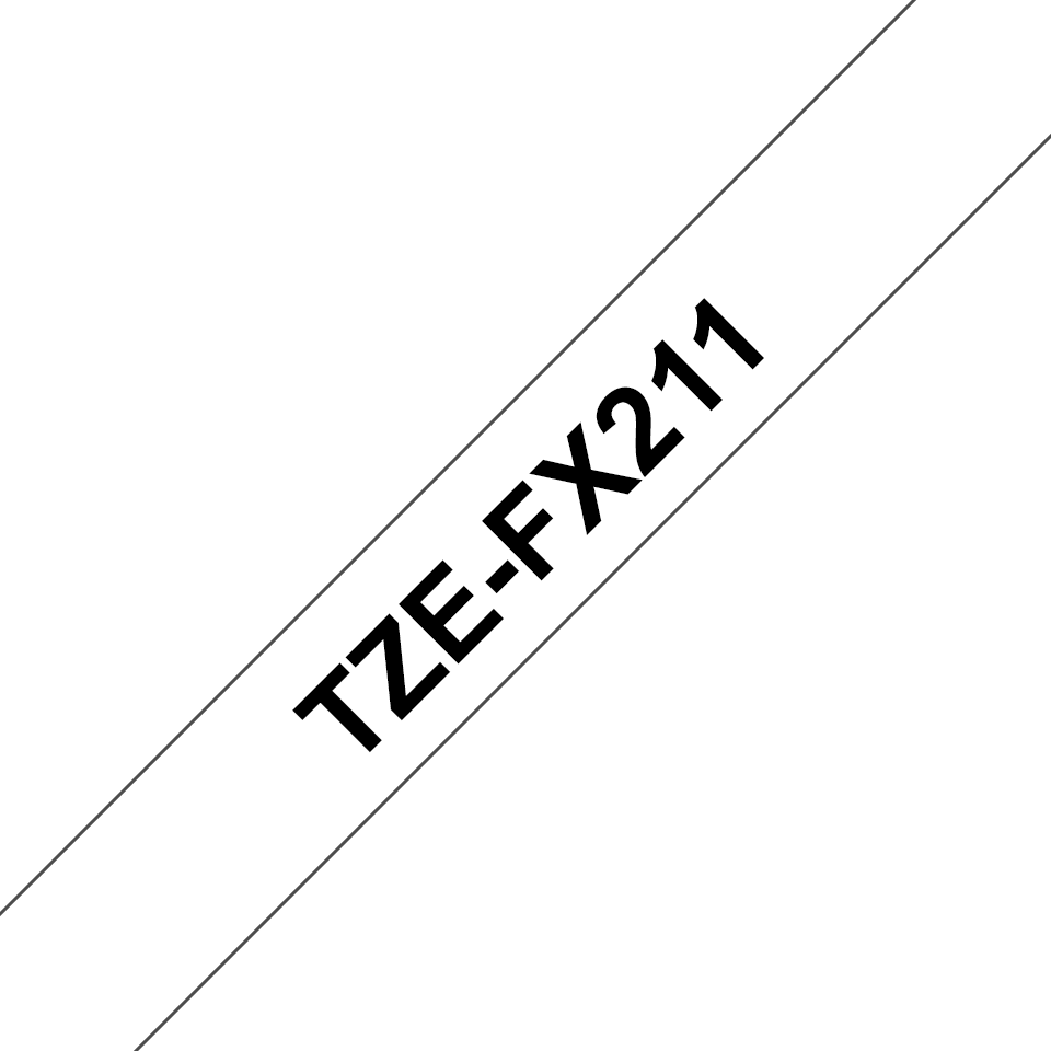 Brother TZe-FX211 6mm labeltape