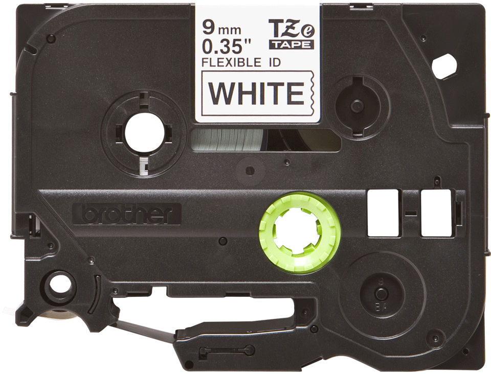 Brother TZe-FX221 9mm labeltape 2
