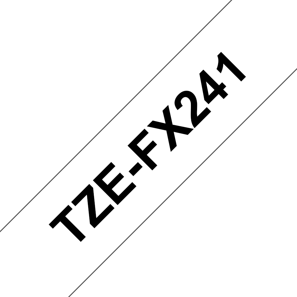 Brother TZe-FX241 18mm labeltape