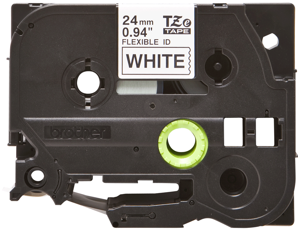 Brother TZe-FX251 24mm labeltape 2