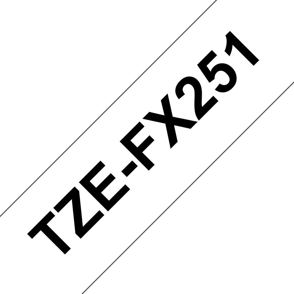 Brother TZe-FX251 24mm labeltape