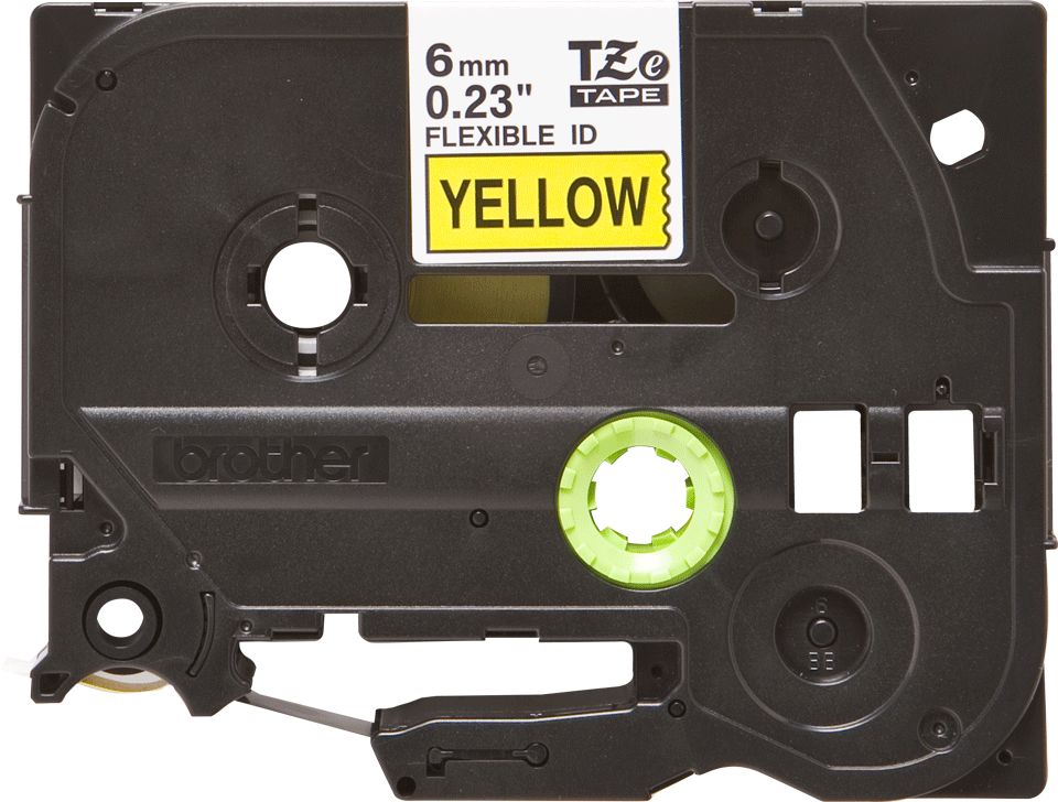 Brother TZe-FX611 6mm labeltape 2