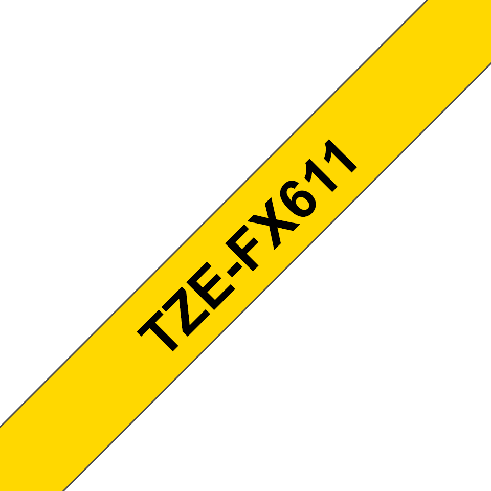 Brother TZe-FX611 6mm labeltape