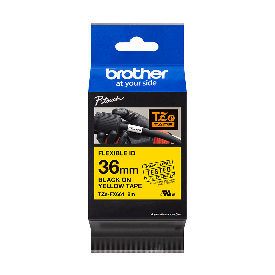 Brother TZe-FX661 36mm labeltape 3