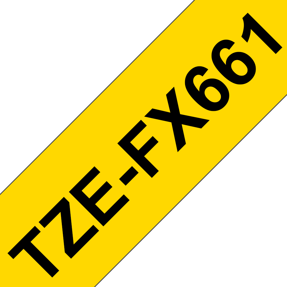 Brother TZe-FX661 36mm labeltape