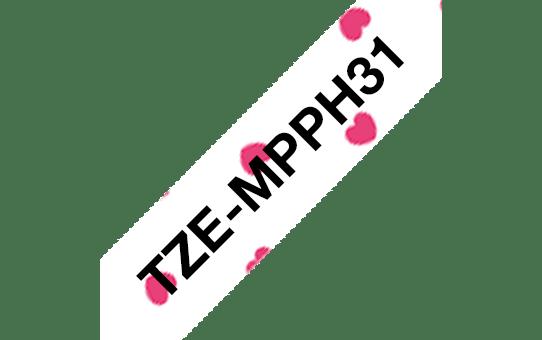 Brother TZe-MPPH31 ruban d'étiquettes 12mm