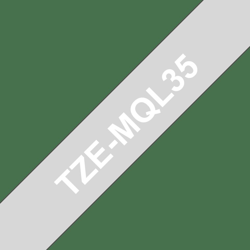 Brother TZe-MQL35 12mm labeltape