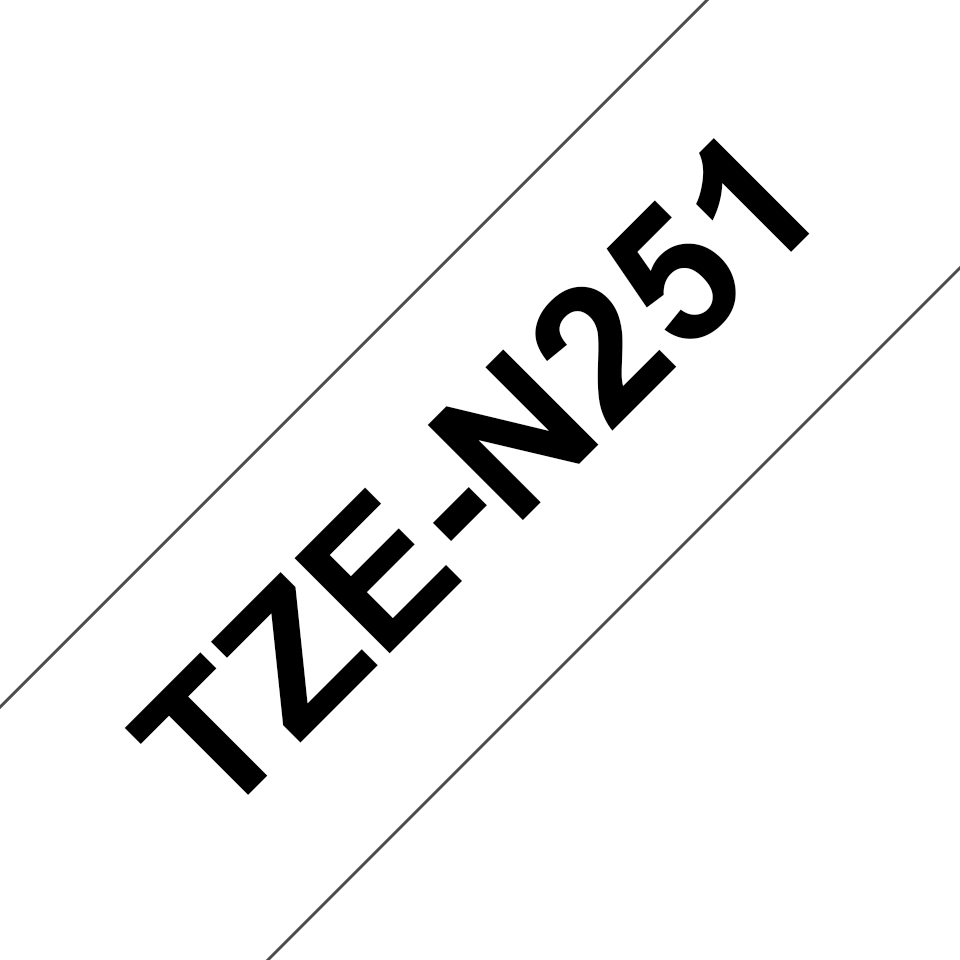 Brother TZe-N251 24mm labeltape