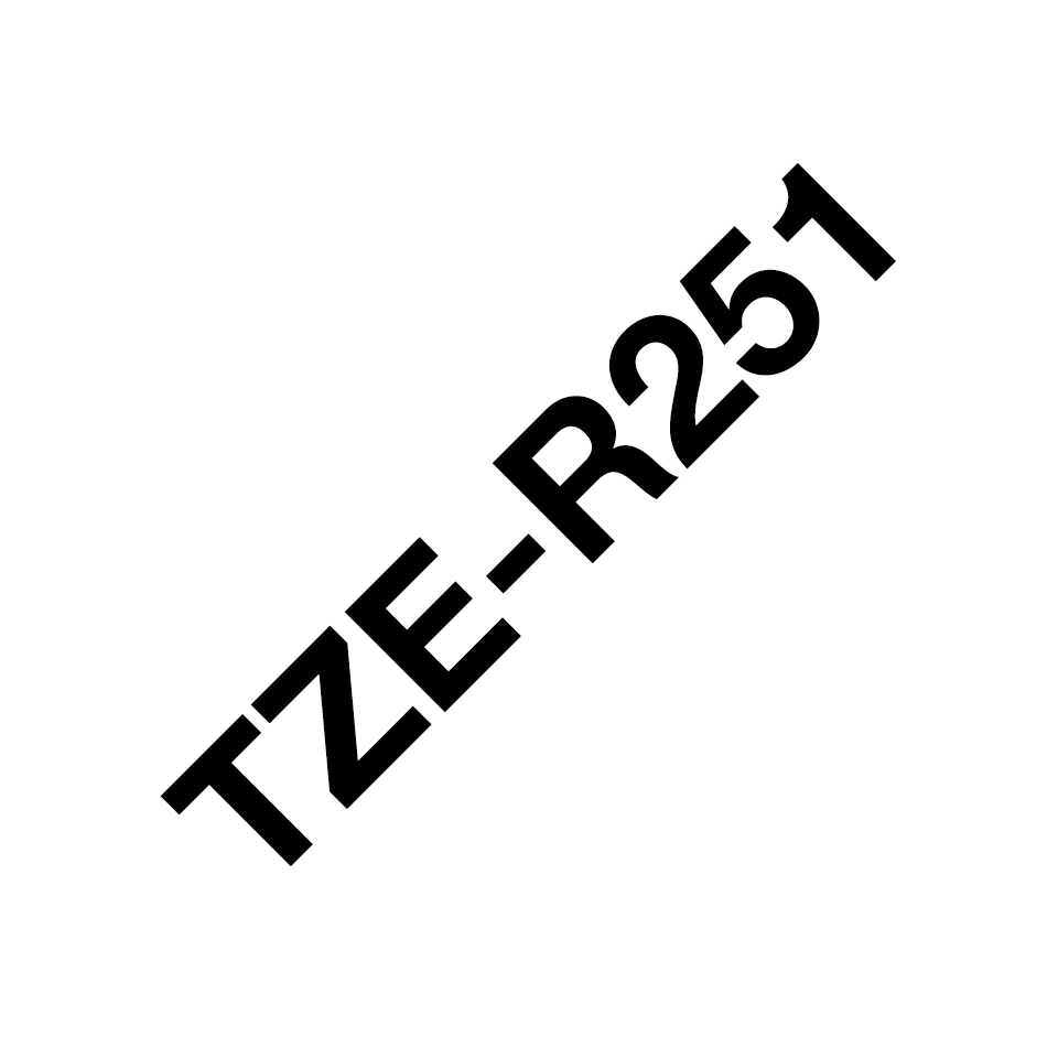 Brother TZe-R251 24mm lint 3
