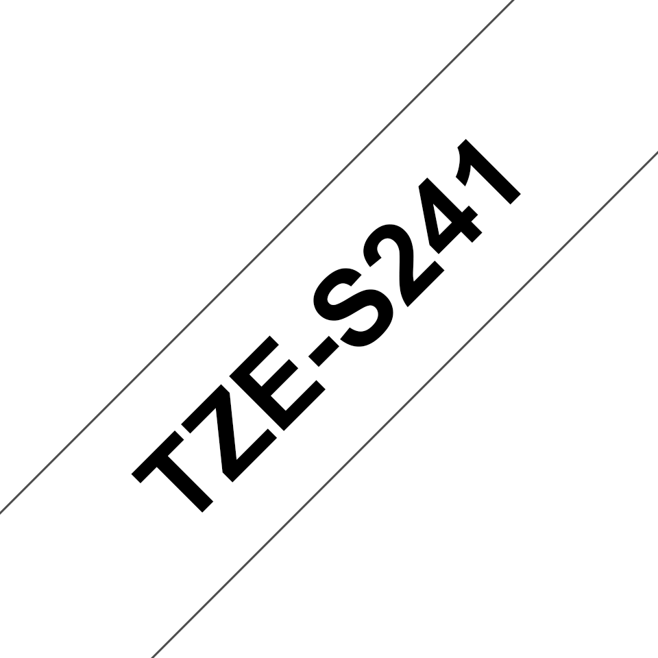 Brother TZe-S241 18mm labeltape