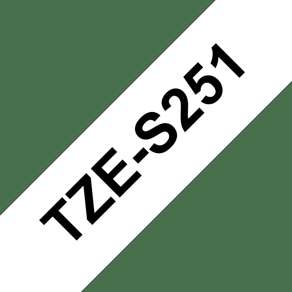 Brother TZe-S251 ruban d'étiquettes 24mm