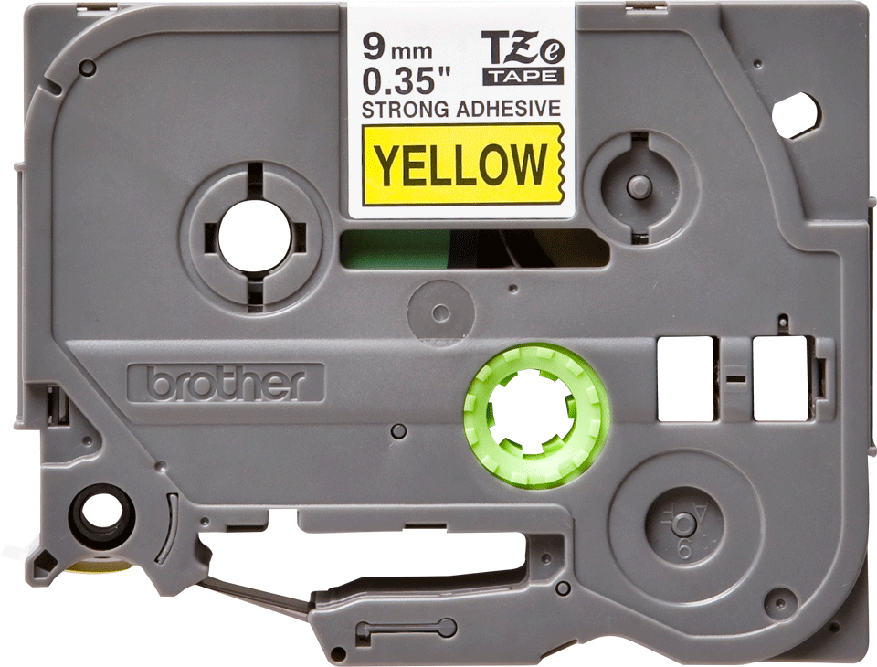 Brother TZe-S621 9mm labeltape 2