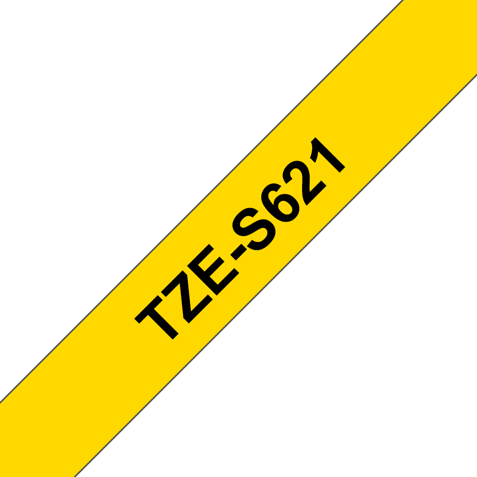 Brother TZe-S621 9mm labeltape