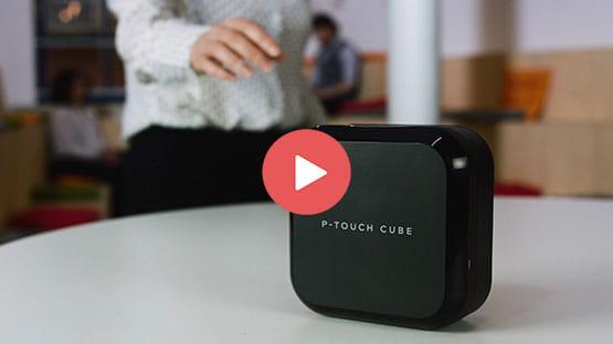P-touch CUBE Plus étiqueteuse 24mm avec connectivité Bluetooth  4