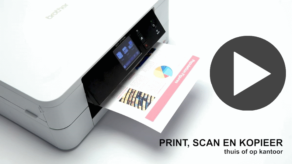 DCP-J774DW A4 all-in-one inkjet printer 7