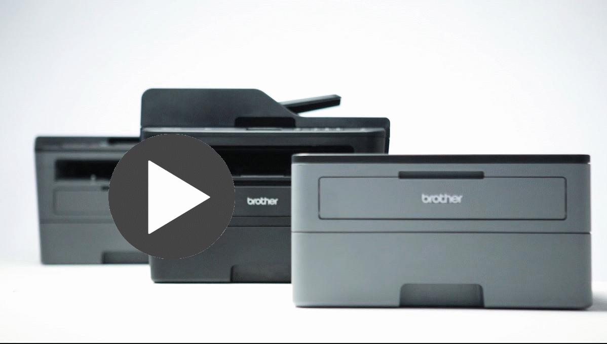 HL-L2310D compacte mono laser printer 4
