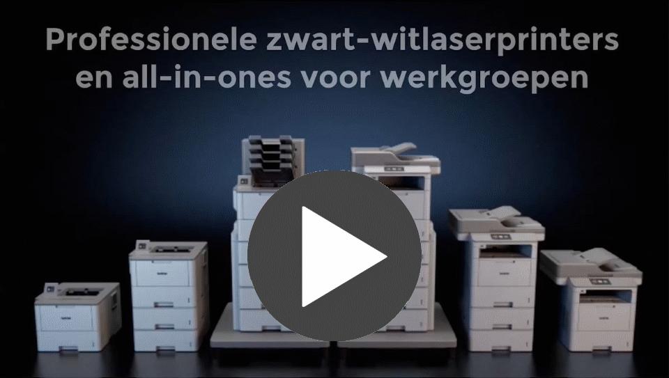 HL-L6300DWT professionele zwart-wit wifi laserprinter 4