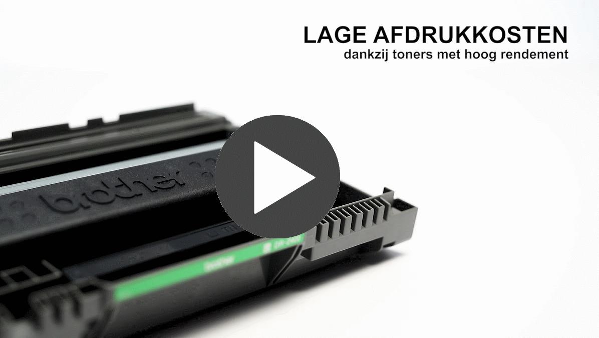 MFC-L2710DW imprimante 4-en-1 laser monochrome compacte et wifi 7