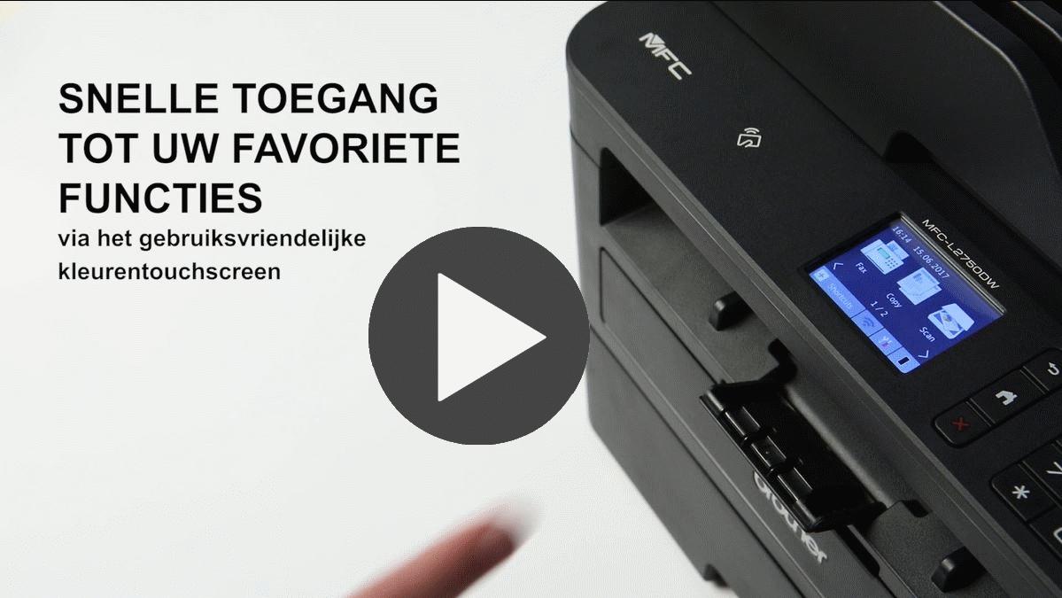 MFC-L2750DW all-in-one mono laser printer 7