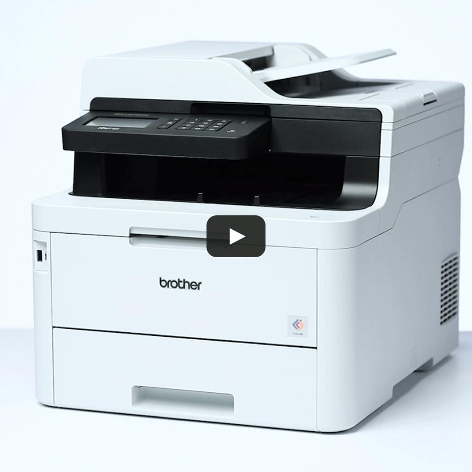 MFC-L3770CDW 4-in-1 kleuren LED printer, Wifi, Ethernet, NFC 7