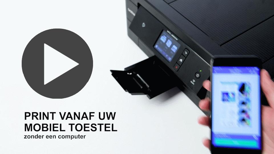 MFC-J890DW 4-in-1 kleuren inkjet printer, Wifi, Ethernet, NFC 7
