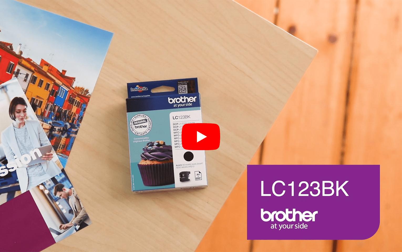 Brother LC123BK inktpatroon zwart 5