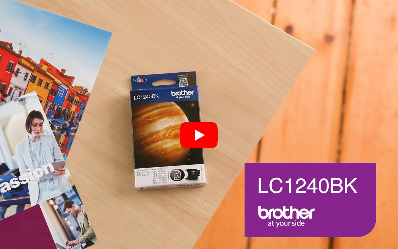 Brother LC1240BK cartouche d'encre noir 5