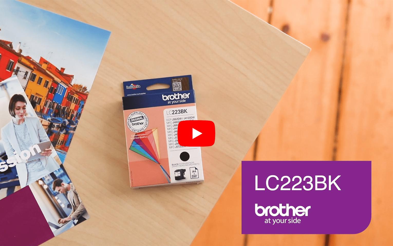 Brother LC223BK cartouche d'encre noir 5