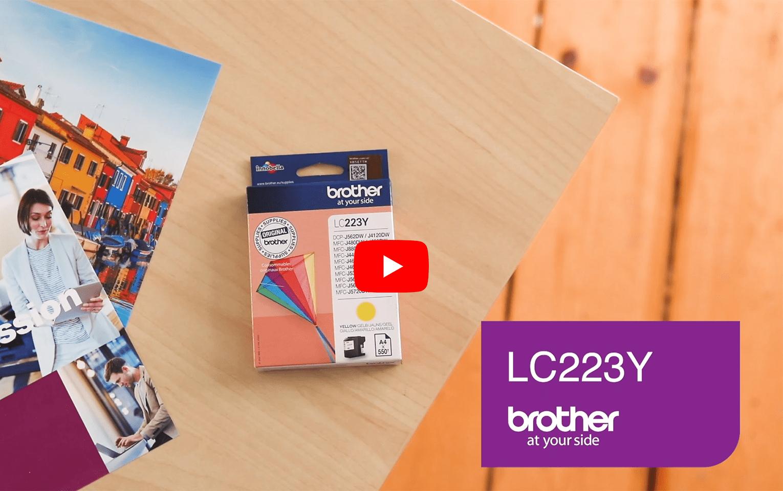 Brother LC223Y inktpatroon geel 5