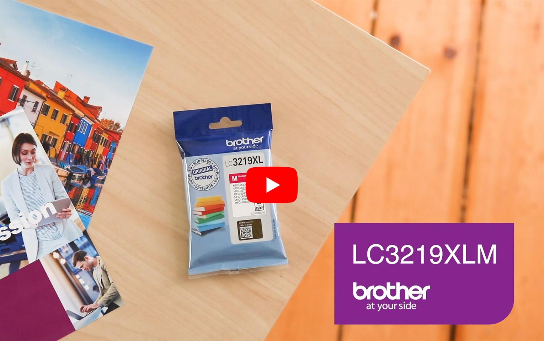 Brother LC3219XLM inktpatroon magenta 5