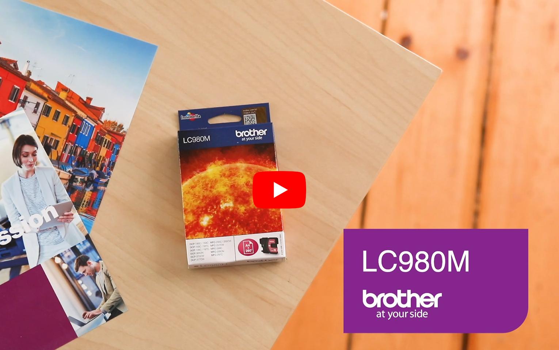 Brother LC980M inktpatroon magenta 5