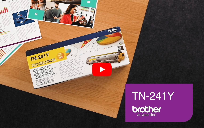 Brother TN241Y toner jaune - rendement standard 5