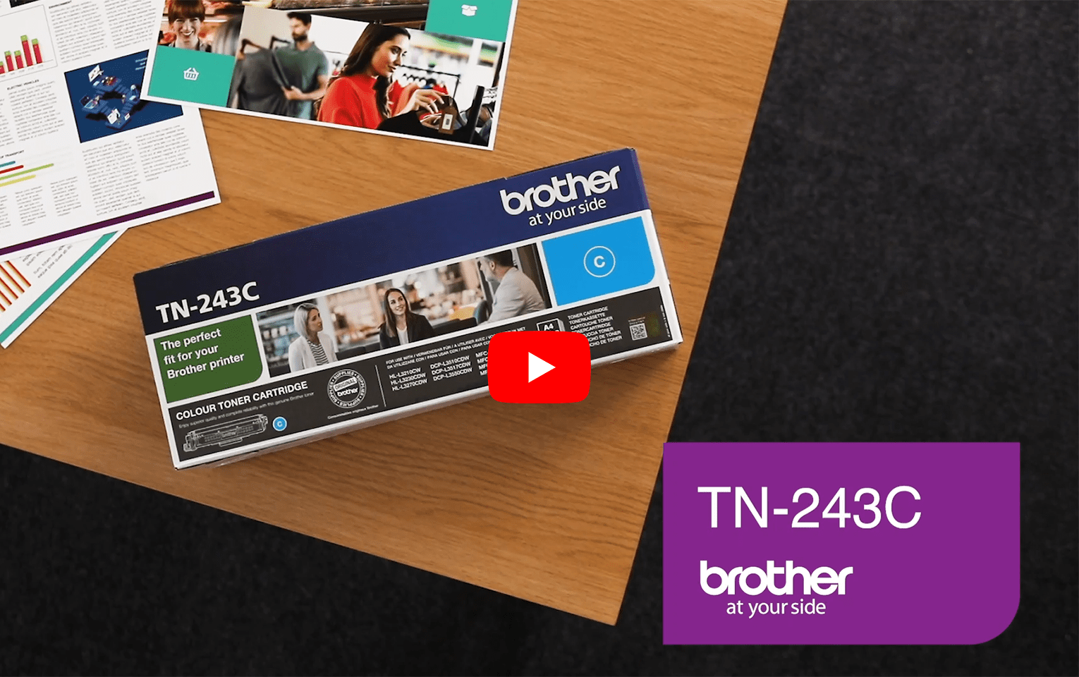 Brother TN243C toner cyaan - standaard rendement 5