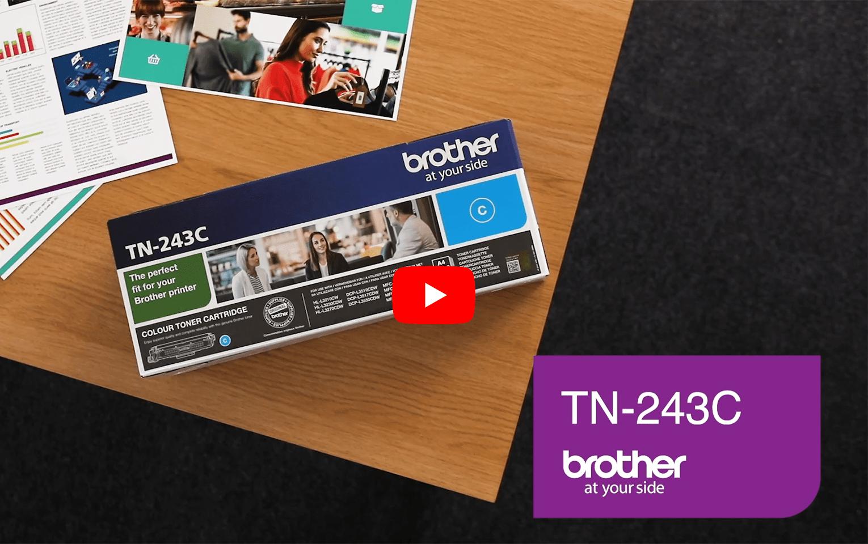 Brother TN243C toner cyan - rendement standard 5