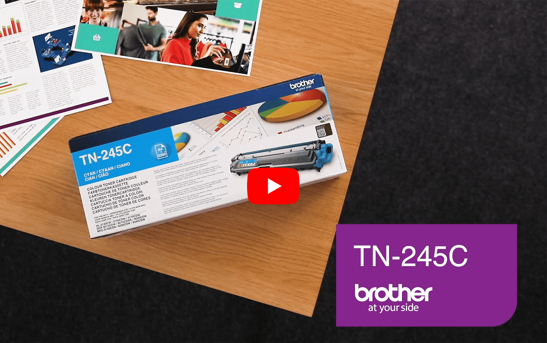 Brother TN245C toner cyan - rendement standard 3