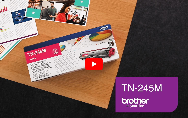 Brother TN245M toner magenta - hoog rendement 5