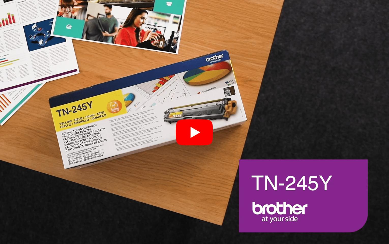 Brother TN245Y toner jaune - haut rendement 5