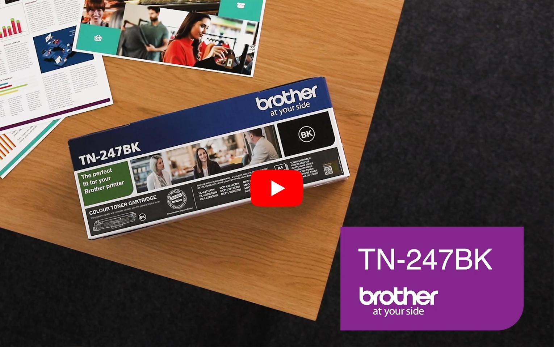 Brother TN247BK toner noir - haut rendement 5