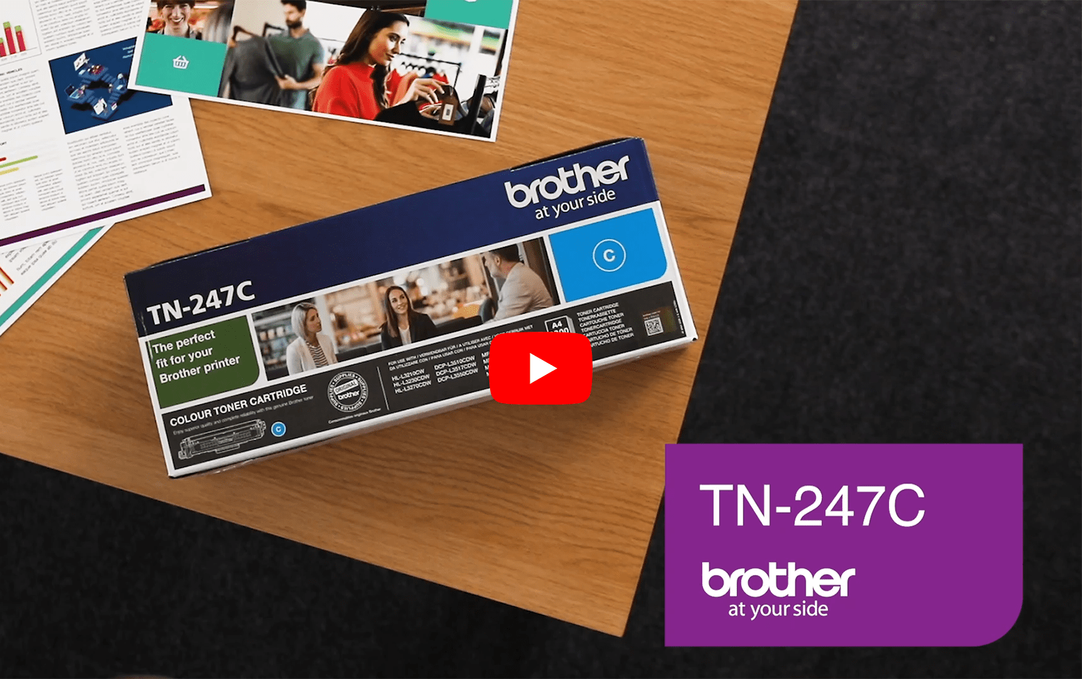 Brother TN247C toner cyaan - hoog rendement 5