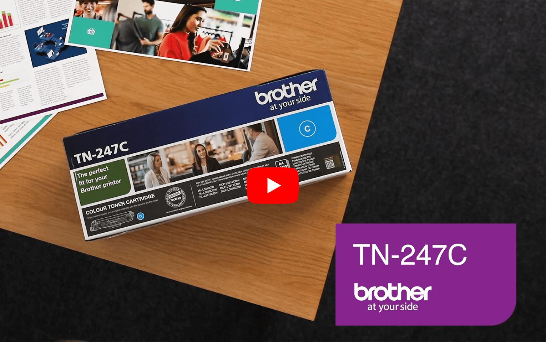 Brother TN247C toner cyan - haut rendement 5