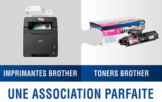 Brother TN326M toner magenta - haut rendement 3