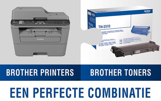 TN-7600 originele zwarte Brother toner met hoog rendement 2
