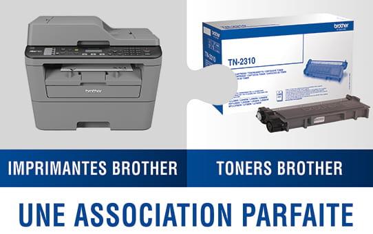 Brother TN7600 toner noir - haut rendement 2